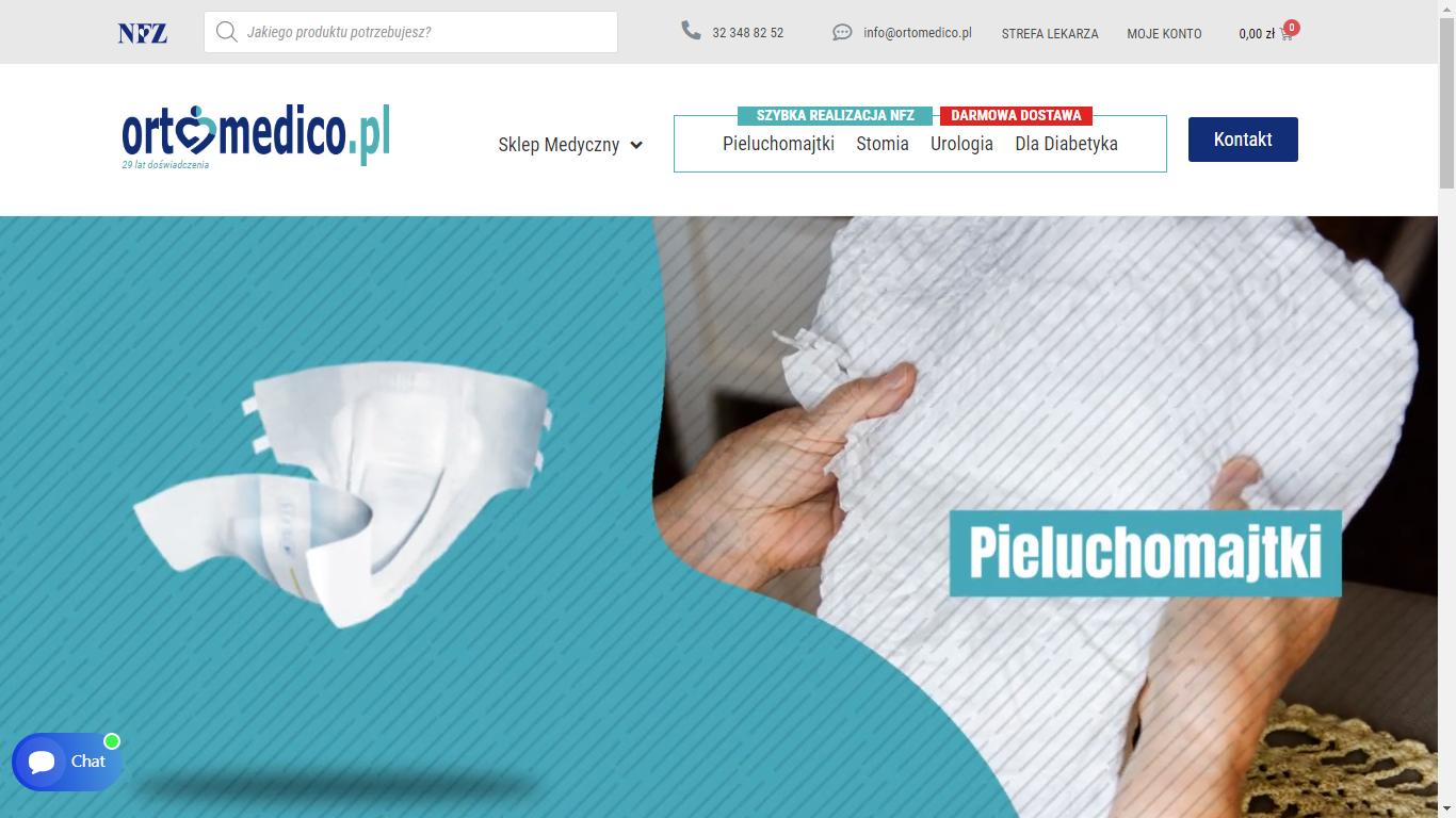 Ortomedico.pl – platforma do zleceń NFZ, która uratowała miejsca pracy